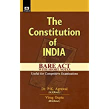 THE CONSTITUTION OF INDIA (English Edition)
