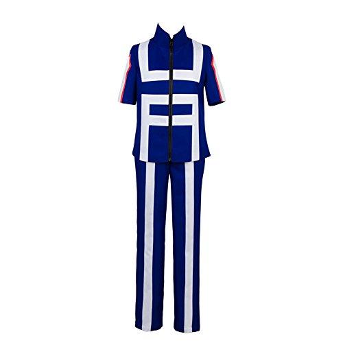 (Boku kein Held Academia mein Held Academia Izuku Midoriya Trainingsanzug Cosplay Kostüm Herren M)