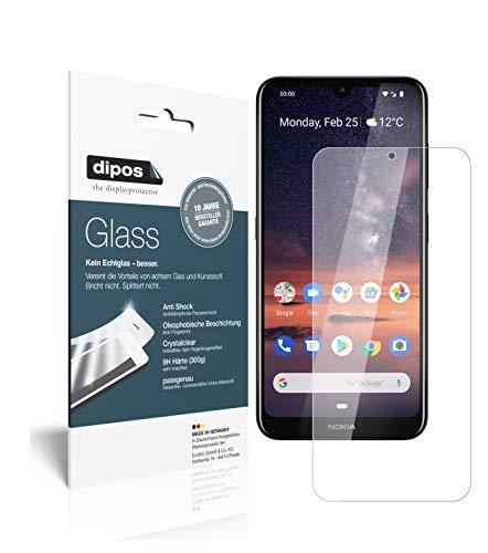 dipos I 2X Pellicola Protettiva per Nokia 3.2 Protezione Vetro Flessibile 9H