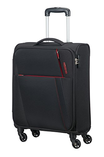 AMERICAN TOURISTER Joyride - Spinner 55/20 Equipaje de mano, 55 cm, 37.5 liters, Negro (Obsidian Black)