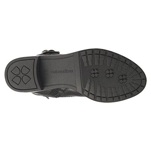 Naturalizer Maddox Breit Rund Stoff Mode Mitte Calf Stiefel Black