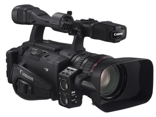 Canon XH A1S HD-Camcorder (SD Card, 20-fach opt. Zoom mit HD-Videoobjektiv, Bildstabilisator)