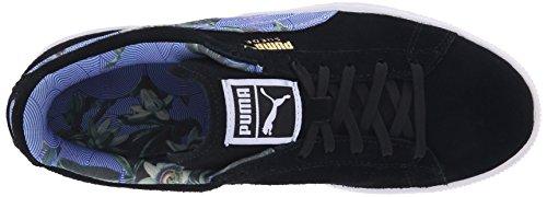 Puma Suede Classic + Flourish Daim Baskets Black-White