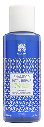 Válquer Total Repair Shampoo - 12 x 75 ml Packet - Total: 900 ml