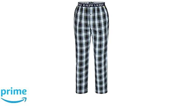 Polo Ralph Lauren Herren Sleep Pant lang Pyjamahose gewebte Baumwolle Schlafhose