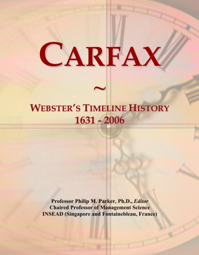 carfax-websters-timeline-history-1631-2006