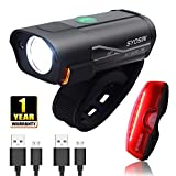 Best Bike Led Lights - SUPERSTA USB Rechargeable Bike Light Set 600 High Review