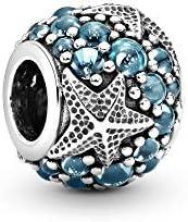 Pandora Women Silver Bead Charm - 791905CZF