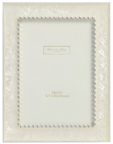 addison-ross-cadre-photo-mariage-email-creme-strass-20-x-25-cm