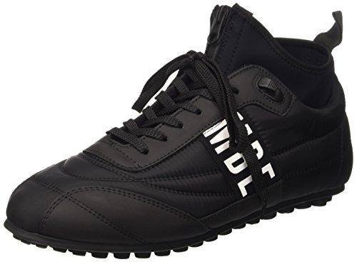 Bikkembergs Soccer 772 Shoe M Nylon/Lycra, Scarpe Low-Top Uomo, Nero, 42 EU