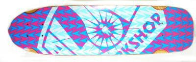 Alien Workshop skateboard old school mini cruiser deck Minnow 26.5 x 7.5 (Alien Workshop Skateboard)