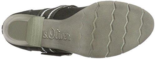s.Oliver 24404, Scarpe con Tacco Donna Grigio (Graphite)
