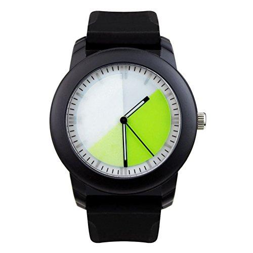 relojes-gradiente-del-copo-de-nieve-helado-de-diseno-creativo-reloj-caracteristica-brisa-verde
