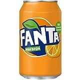 Fanta Orange Soft Drink Can 330 ml (Pack of 24)