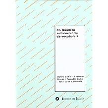 3r Quadern autocorrectiu de vocabulari (Quaderns autocorrectius)