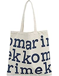 K-Star Canvas Tote Bag Heavy Duty Handmade Cotton Shopping Bags By Star K