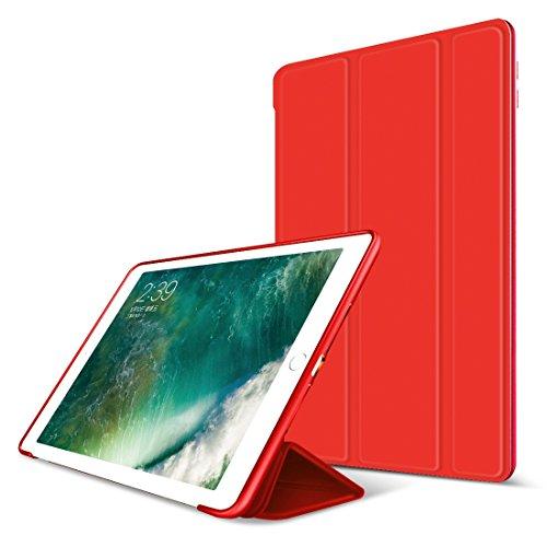 iPad Air 2 Hülle,GOOJODOQ iPad Air 2 PU Leder Etui Hülle Tasche mit Ständer Funktion und...