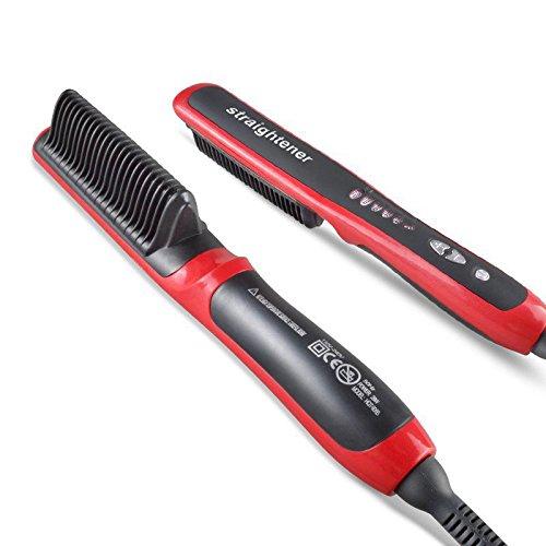 Shuangklei Keramik Glattes Haar Kamm Haarbürste Straighting Haarglätter Bügeleisen Walze Werkzeuge - Heiße Werkzeuge, Walzen
