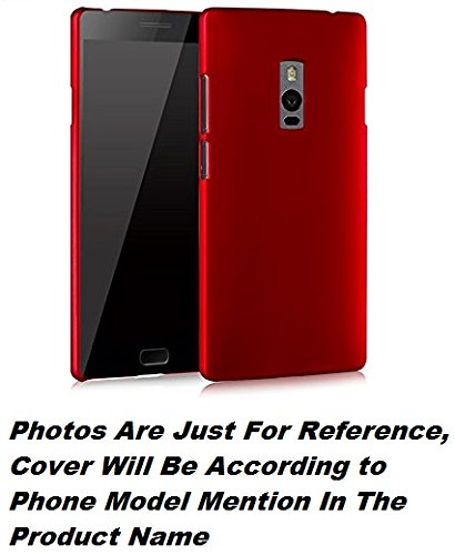 Delkart Hard Back Cover For Lenovo K900 (Red)  available at amazon for Rs.149