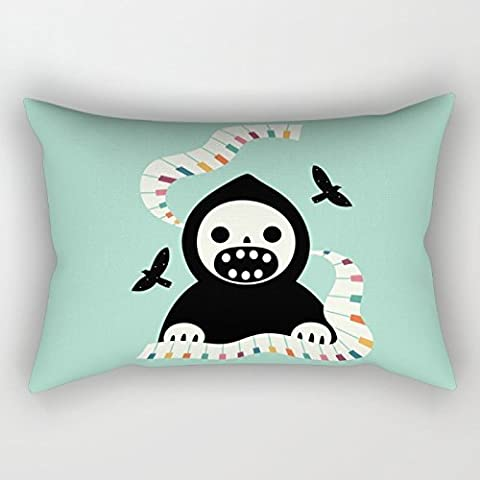 NIICE Skull Throw Pillow Case 18 X 26 Inches /