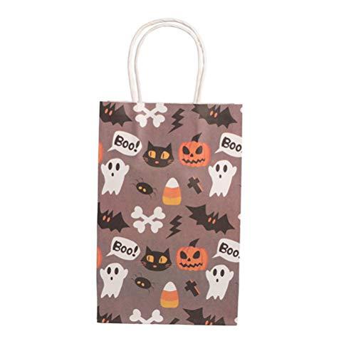 �ten aus Papier, Motiv Geister, für Süßigkeiten, Kekse, Halloween, 10 Stück ()