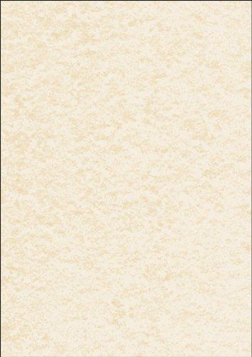 Sigel DP605 Papier à lettres, 21 x 29,7 cm, 90g/m², texturé crépis, beige, 100 feuilles