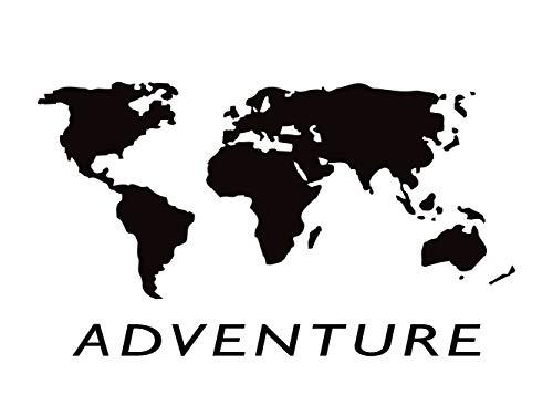 Oedim Pegatina Mapa del Mundo | 31 x 16