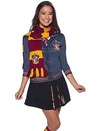 Harry Potter Deluxe Bufanda Gryffindor, Multicolor, (Rubie'S 39033)