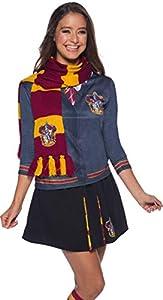 Harry Potter Deluxe Bufanda Gryffindor, Multicolor, (Rubie