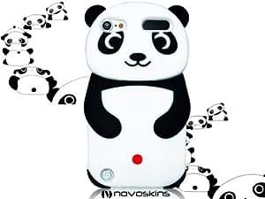 iPod Touch 5 5G Cute Kawaii Po Panda Black Noir et White Blanc Silicone Case étui