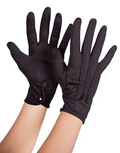 Boland 03082 - guantes XL con cierre de botón, un tamaño, negro