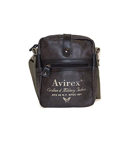 sac Avirex | Alifax | AVXALFA10AI1516-Dark Brown