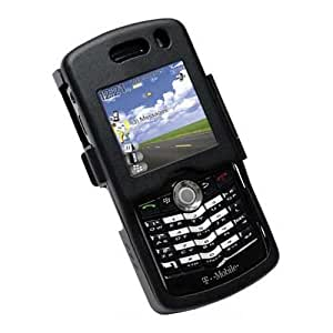 Monaco BlackBerry 8100 Pearl Monaco Aluminum Case - Black - Carrying Case - Black