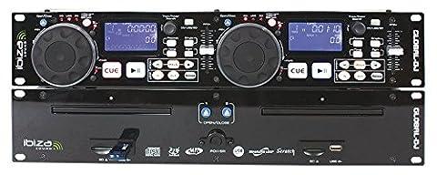 Ibiza Global-DJ Lecteur CD Noir