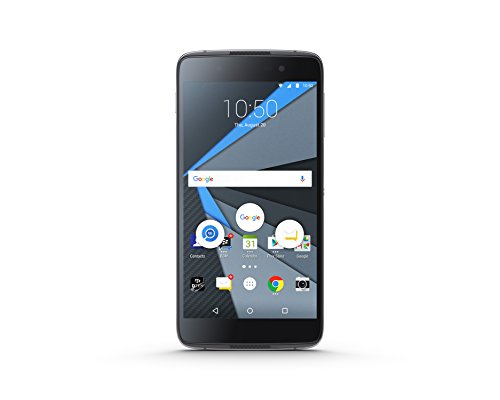 Blackberry Dtek50 Smartphone Portable débloqué 4G (Ecran: 5,2 Pouces - 3 Go - Nano-SIM - Android) Noir