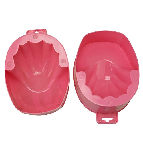 2x offre unbeateable Bol à Ongles Pour DIY Manucure Outil Traitement Soins Nail Art Soak Bowl