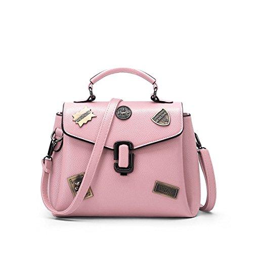 Versione Coreana Della Nuova Moda Femminile Del Sacchetto Di Spalla Dell'inarcamento Pink