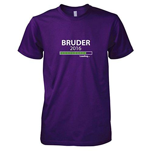 TEXLAB - Bruder 2016 Loading - Herren T-Shirt Violett