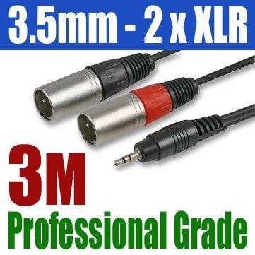 35mm-3m-plug-jack-to-2-x-xlr-male-plug-cable-300