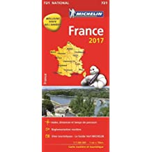 Carte France Michelin 2017