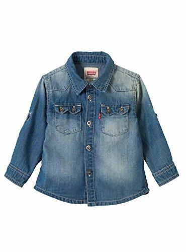Levi's camicia jeans barsto denim (24 mesi)
