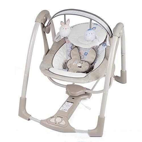 Imagen para CWLLWC Silla Mecedora eléctrica de Comodidad del bebé, niño recién Nacido Coax Dormir muñeca artefacto Cama Cuna