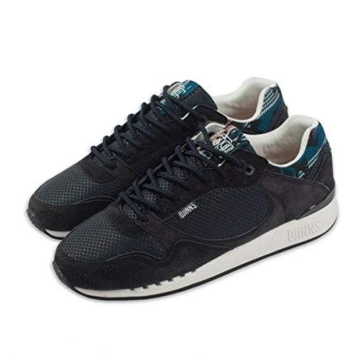 DJINNS - Easy Run Rubber & Aztek (navy) - Sneaker, EU 42