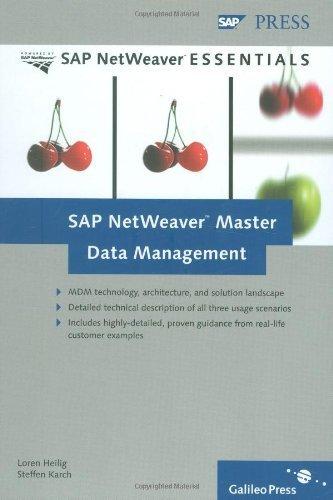 SAP NetWeaver Master Data Management by Loren Heilig (2007-03-28) par Loren Heilig; Steffen Karch; Oliver Böttcher; Christiane Hofmann; Roland Pfennig