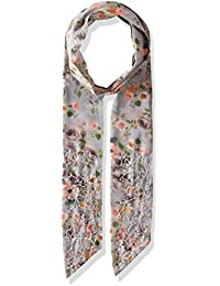 Steve Madden Women's Dolce Flora Long and Skinny Scarf