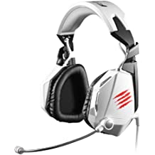 Mad catz Cyborg F.R.E.Q.5 Stereo Gaming Headset F - Auricular Mad Catz F.R.E.Q. 5 Blanco