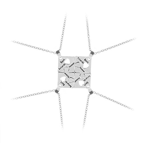 'Elegant Rose-Sets 4Stück Legierung Halsketten