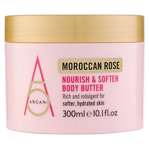 Arganier + Moroccan Rose Nourrir Le Corps De Beurre 300Ml (Lot de 6)