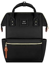 Hethrone Sac à Dos Femme 15.6 Sac à Dos Pc Antivol Imperméable Backpack pour Scolaire Voyage Travail Décontracté