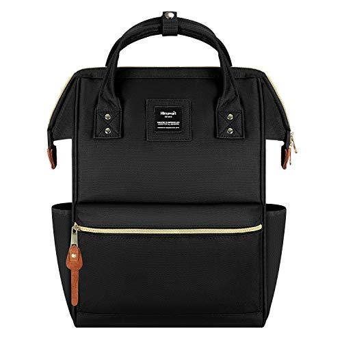 Zaino donna impermeabile porta pc 15.6 pollici zaino antifurto scuola universitá moda zaini lavoro computer backpack laptop nero